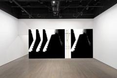 """""""Partition +"""", 2019, Photo et dessin numérique dimensions variables"""