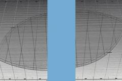 """"""" """"Partition Bleu"""", 2019, dessin numérique 80 X 60cm"""