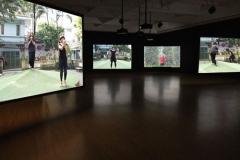 """""""on the street"""", 2017, installation vidéo"""